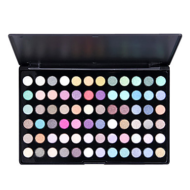 72 colores brillo suave maquillaje en los ojos paleta de sombra de