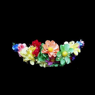 abordables Coiffes-Cristal / Tissu / Papier Diadèmes / Fleurs avec 1 Mariage / Occasion spéciale / Fête / Soirée Casque