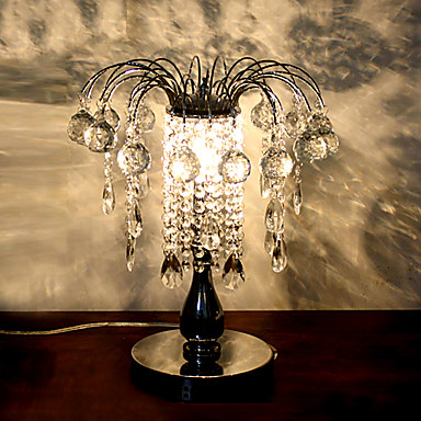 1 - Light Artistic Crystal Table Light