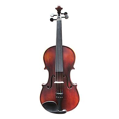 손으로 조각 고풍으로하다 솔리드 가문비 나무의 바이올린 (멀티 크기)