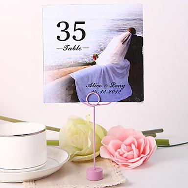 kişiselleştirilmiş kare numara kartı - birlikte düğün