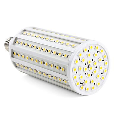 3000lm E26 / E27 LED-maissilamput T 165 LED-helmet SMD 5050 Lämmin valkoinen 220-240V