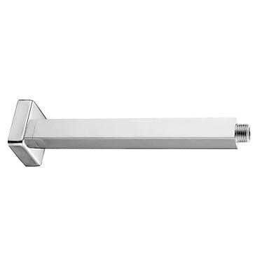 Vandhaner tilbehør - Overlegen kvalitet - Moderne Messing Brusehoved Fast Rod - Afslut - Krom