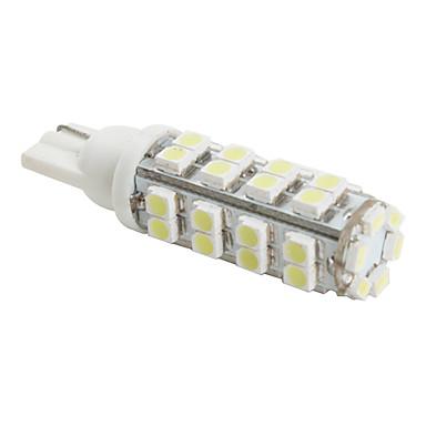 t10 3528 SMD 38-LED hvidt lys pære til bil (DC 12V)