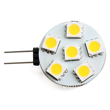 1.5 W 150 lm G4 LED bodovky 6 LED korálky SMD 5050 Teplá bílá 12 V / #