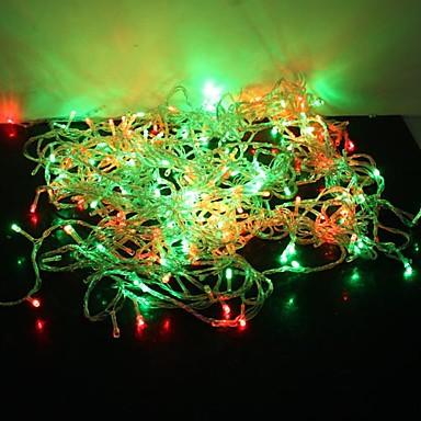 Φώτα σε Κορδόνι 300 LEDs Μικροδιακόπτες (Dip) LED Πολύχρωμα Πάρτι / Διακοσμητικό / Lovely 220-240 V 1set