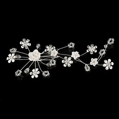 Handmade Flowers And little Wedding Bridal Headpiece