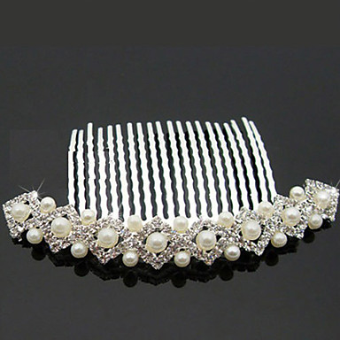 Women's Alloy Imitation Pearl Headpiece-Wedding Special Occasion Outdoor Hair Combs