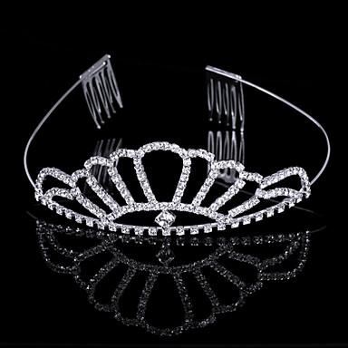nydelig utarbeide cubic zirkonia i legering tiara