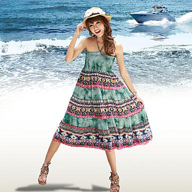 tendance bohème plage robe