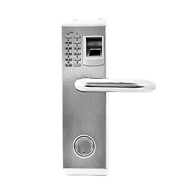 Edelstahl + A Stufe ABS Kennwort Fingerabdruck-Verschluss Smart Home Sicherheit System Home Villa Hotel Wohnung Verbundtür Holztür