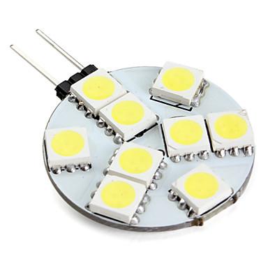 g4 led bi-pin lumini 9 smd 5050 100lm naturale albe 6000k
