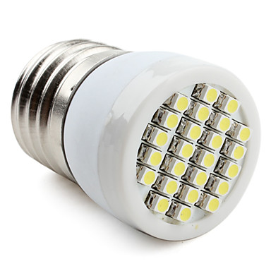 60-80lm E26 / E27 LED Spot Lampen 24 LED-Perlen SMD 3528 Natürliches Weiß 220-240V