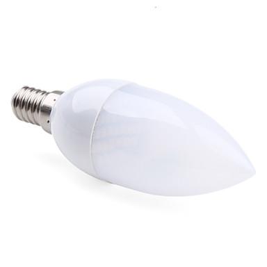 E14 led vela luzes c35 30 smd 3528 100lm quente branco 2800k ac 220-240v