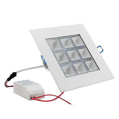 LED Ceiling Lights 9 High Power LED 1000lm Natural White 6000K AC 85-265V