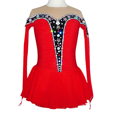 Skating Skirts & Dresses Women's Red 6 / 8 / 10 / 12 / 14 / 16 / M / S / L / XL