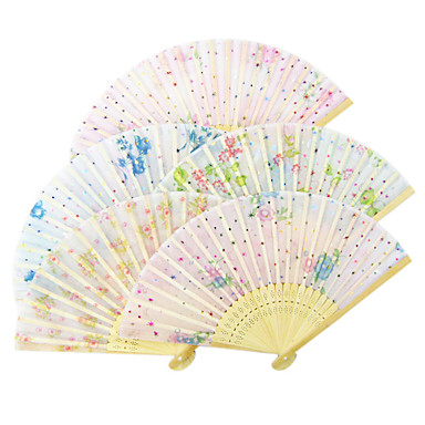 Speciel Lejlighed Fans og parasoller Bryllup Dekorationer Blomster Tema Forår Sommer