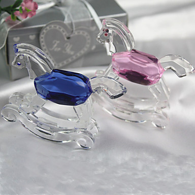 Gifts Bridesmaid Gift Lovely Crystal Toy Horse Favor