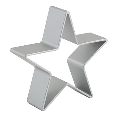 Mold Star For Pie For Cookie For Cake Aluminum DIY Christmas High Quality
