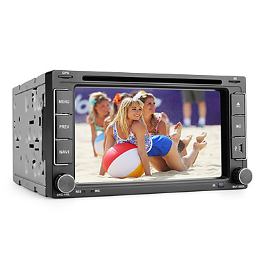 Android 6.2-inch 2 Din TFT Screen In-Dash Car DVD Player With Bluetooth,Navigation-Read GPS,RDS,3G(WCDMA),Wi-Fi,TV,iPod-Input