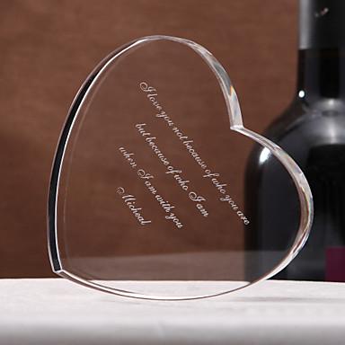 Krystall Kristall Artikel Paar Eltern Hochzeit Jahrestag Einweihungsparty Herzliche Glückwünsche Danke Geschäft