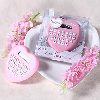 hjerteformede kalkulator favør