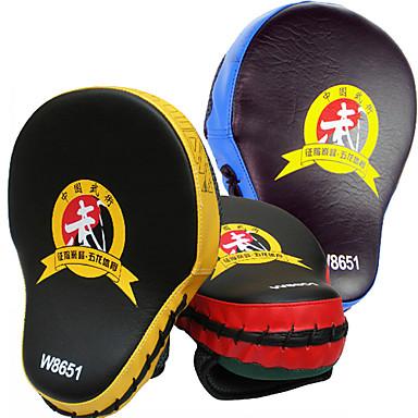 Odak Yumruk Pedleri Boks Pedi Boks ve Dövüş Sanatları Pad için Taekwondo Boks Sanda Muay Thai Karate PVC Yüksek Yoğunluklu Köpük PU 1