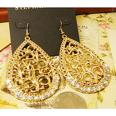 Damen Vintage Diamond Earrings