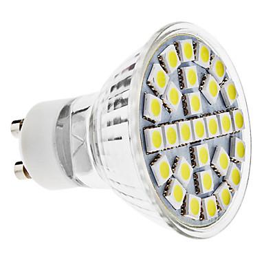 170lm GU10 LED-kohdevalaisimet MR16 29 LED-helmet SMD 5050 Neutraali valkoinen 100-240V