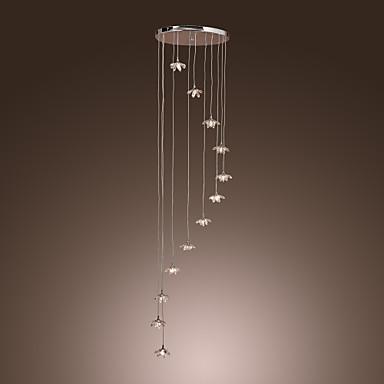 10-Işık Küme Avize Lambalar Ortam Işığı - Kristal, Mini Tarzı, 110-120V / 220-240V Ampul Dahil / G4 / 40-50㎡