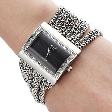 aliaj analog ceas brățară de cuarț pentru femei (de argint)