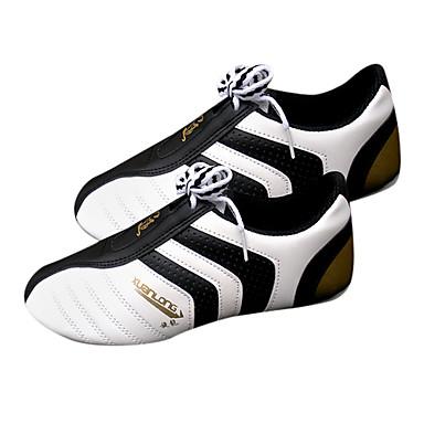 남여 화이트 PU와 천연 고무 태권도 Practise 신발 (각종 크기)