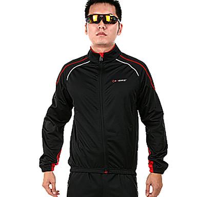 Муж. Длинный рукав Велоспорт Жакет, Сохраняет тепло, Флисовая подкладка