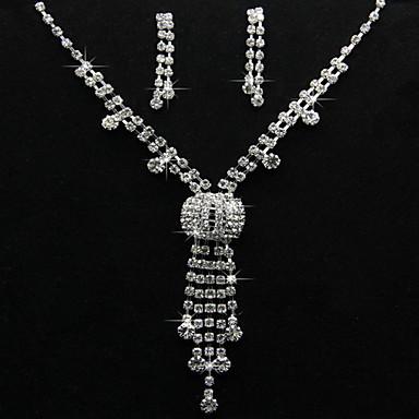 Šperky Set Dámské Výročí / Narozeniny / Dárek / Párty / Zvláštní příležitost Sady šperků Slitina imitace drahokamu Náhrdelníky / Küpeler