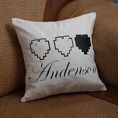 Geschenke Brautjungferngeschenk personifizierte Herz-Design Kopfkissen (Kissen nicht im Lieferumfang enthalten)