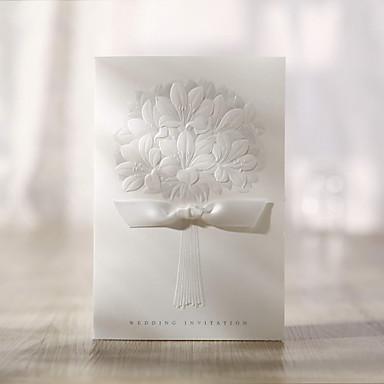 Bouquet Pattern Wedding Invitation (Set of 50)