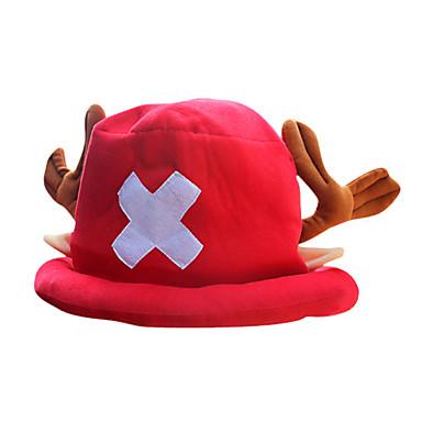 Pălărie/Șapcă Inspirat de One Piece Tony Tony Chopper Anime Accesorii Cosplay Pălărie Șapcă Lână polară Bărbătesc
