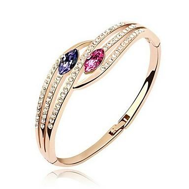 Vackra legering med Crystal / Rhinestone Kvinnors Armband (Fler färger)