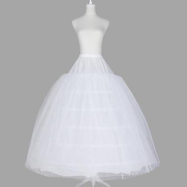 Düğün / Özel Anlar Slipler Organze / Tafta / Tül Yer-uzunluğunda Balo Elbisesi Alt Giyimi ile