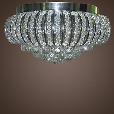 Star Shining Crystal 5-Light Flush Mount