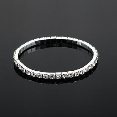 Umjetno drago kamenje Tenis Legura Jewelry Vjenčanje Party Dar Nakit odjeće