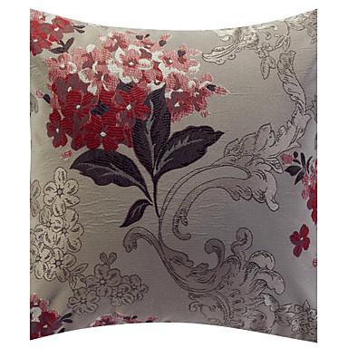 1 kpl Polyesteri Tyynynpäälinen, Kukka Perinteinen