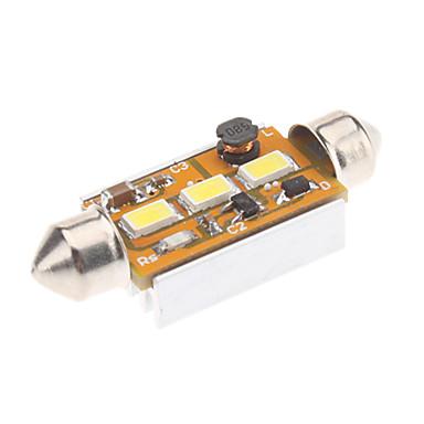 Festoon Mașină Alb 1W SMD 5730 6000-6500 Lumini de citit
