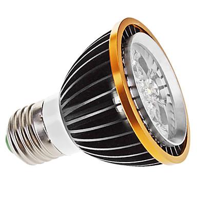 5W E26/E27 LED-spotlys MR16 5 Højeffekts-LED 350 lm Varm hvid Justérbar lysstyrke AC 220-240 V