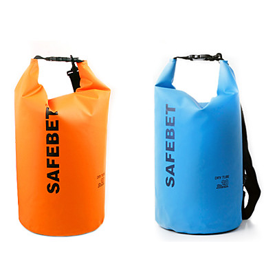 10 L Rezistent la apa Dry Bag Galben / Verde / Negru / Portocaliu / Fucsia