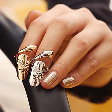 Ženska Rhinestone zmija Nail Ring