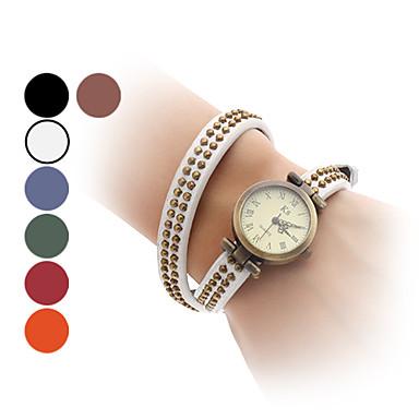 Kadın's Bilezik Saat Japonca Büyük indirim Bant Vintage / Halhal / Moda Siyah / Beyaz / Mavi / Bir yıl / SSUO SR626SW