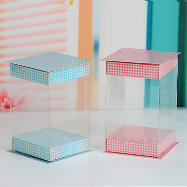 Simple Cupcake Box - Set of 12 (More Coloes)