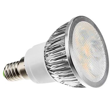 Zdm e14 4 w 260-300lm led spot 4 led boncuk yüksek güç led dim sıcak beyaz soğuk beyaz doğal beyaz ac220-240v
