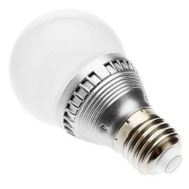 lm E26/E27 Bulb LED Glob G60 led-uri LED Integrat Telecomandă RGB AC 220-240V